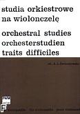 Okładka: Świerkowski Aleksander Leszek, Studia orkiestrowe na wiolonczelę