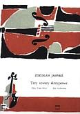 Ok�adka: Jahnke Zdzis�aw, 3 utwory skrzypcowe