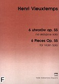 Okładka: Vieuxtemps Henry, 6 utworów, 6 utworów polifonicznych op. 55