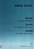Okładka: Łuciuk Juliusz, Sonata na fagot i fortepian
