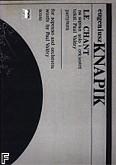 Okładka: Knapik Eugeniusz, Le Chant na sopran i orkiestrę /part./