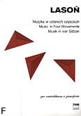 Okładka: Lasoń Aleksander, Muzyka w czterech częściach