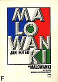 Ok�adka: Fotek Jan, Malowanki na ch�r (SAT) i zesp� instrumentalny (partytura)