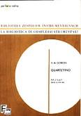 Okładka: Górecki Henryk Mikołaj, Quartettino op. 5 na 2 flety, obój i skrzypce (partytura + głosy)