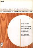 Okładka: Schubert Zenon, Suita dziecięca na 2 oboje, 2 klarnety, 2 fagoty i 2 rogi (partytura+głosy)