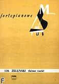 Okładka: Żeleński Władysław, Theme varié