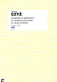 Okładka: Czyż Henryk, Canzona di barocco na orkiestrę smyczkową (partytura)