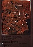 Ok�adka: Krzanowska Gra�yna, Krzanowski Andrzej, Sonata breve. Rapsodia