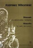 Okładka: Wiłkomirski Kazimierz, Mazurek