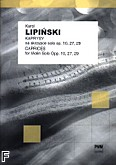 Ok�adka: Lipi�ski Karol, Kaprysy op. 10, 27, 29