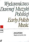 Okładka: Zieliński Maciej, Magna Est Gloria Eius