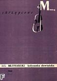 Okładka: Młynarski Emil, Kołysanka słowiańska op. 4 nr 2