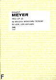 Ok�adka: Meyer Krzysztof, Trio, op. 50 na skrzypce, wiolonczel� i fortepian (partytura + g�osy)