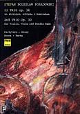 Okładka: Poradowski Stefan Bolesław, II Trio op. 30 na skrzypce, altówkę i kontrabas (partytura + głosy)