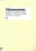 Okładka: Twardowski Romuald, Koncert fortepianowy (wyciąg fortepianowy)