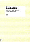 Okładka: Palester Roman, Duety na dwoje skrzypiec