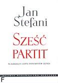 Ok�adka: Stefani Jan, 6 partit na kameralny zesp� instrument�w d�tych