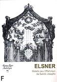 Okładka: Elsner Józef, Motetto seu Offertorium de Sancto Josepho op. 10 na chór mieszany i orkiestrę symfoniczną (partytura