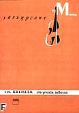 Okładka: Kreisler Fritz, Cierpienia miłosne
