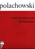 Ok�adka: Polachowski Adam, Etiudy batalistyczne na werbel i wielki b�ben (partytura)