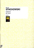 Okładka: Stachowski Marek, Sonata per archi (partytura)