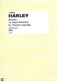 Okładka: Harley James, Images na flet, vibrafon i trio smyczkowe (partytura)