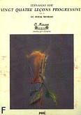 Okładka: Sor Fernando, Vingt-Quatre Leçons Progressives op. 31