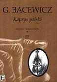 Okładka: Bacewicz Grażyna, Kaprys polski