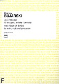 Okładka: Bujarski Zbigniew, Lęk ptaków I na skrzypce, altówkę i perkusję (partytura+głosy)