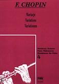 Okładka: Chopin Fryderyk, Wariacje