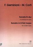 Ok�adka: Geminiani Francesco, Corti Mario, Sonata B-dur