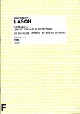 Okładka: Lasoń Aleksander, Concerto Pablo Casals in memoriam - na wiolonczelę i orkiestrę