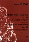 Okładka: Lipiński Karol, II Koncert skrzypcowy D-dur