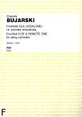 Okładka: Bujarski Zbigniew, Pawana dla oddalonej na orkiestrę smyczkową (partytura)