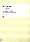 Okładka: Bujarski Zbigniew, Lęk ptaków II na 2 klarnety i perkusję (partytura+głosy)