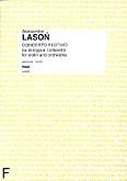 Ok�adka: Laso� Aleksander, Concerto Festivo na skrzypce i orkiestr� (partytura)