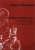 Ok�adka: Wieniawski Henryk, Souvenir de Moscou deux airs russes op. 6