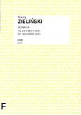 Ok�adka: Zieli�ski Maciej, Sonata na akordeon solo