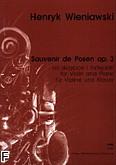 Ok�adka: Wieniawski Henryk, Souvenir de Posen op. 3