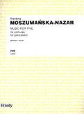 Okładka: Moszumańska-Nazar Krystyna, Music for Five na zespół perkusyjny