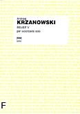 Ok�adka: Krzanowski Andrzej, Relief V na wiolonczel� solo