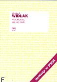 Okładka: Widłak Wojciech, Psalmus CL per coro mistro (partytura)