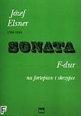 Okładka: Elsner Józef, Sonata F-dur op. 10 nr 1