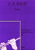 Okładka: Bach Johann Sebastian, Siciliana z II Sonaty Es na flet i klawesyn, BWV 1031