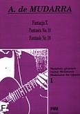 Okładka: Mudarra Alonso de, Fantazja X na gitarę