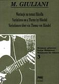 Okładka: Giuliani Mauro, Wariacje na temat Händla op. 107