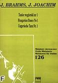 Okładka: Brahms Johannes, Taniec węgierski nr 1