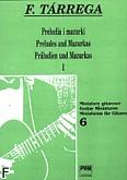 Okładka: Tárrega Francisco, Preludia i mazurki