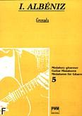 Ok�adka: Alb�niz Isaac, Granada op. 47