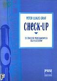 Okładka: Graf Peter-Lukas, Check-Up -20 Ćwiczeń podstawowych dla flecistów